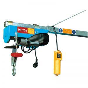 MB200 Mini Electric Hoist, palan electric